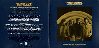 The Kinks 2018 PROMO CD REISSUE Are The Village Green Preservation Society