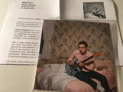 Mike Krol 2019 PROMO CD ALBUM Power Chords