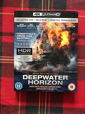 Deepwater Horizon (4K UHD BLURAY) [Blu-ray] [2016]  Brand New 5055761909180
