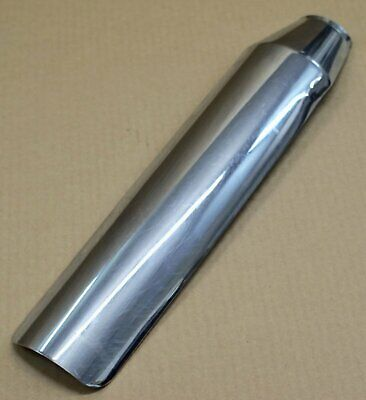 Harley original Auspuff Exhaust Schalldämpfer Hitzeblech Heat Shield Chrom