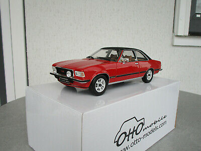 Ottomobile Opel Commodore B GS//E 1977 blau Modellauto 1:18
