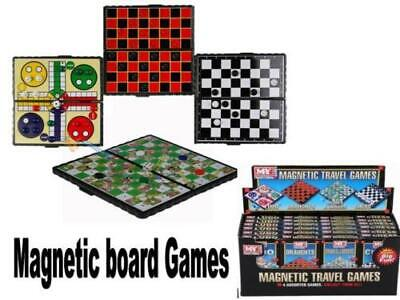 Mini Magnetic Travel Board Games - Ty5220 Draughts Snakes & Ladders Ludo Chess