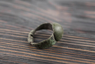 Ancient Viking Twisted Ring c. 9th Century AD Rare Medieval Artifact