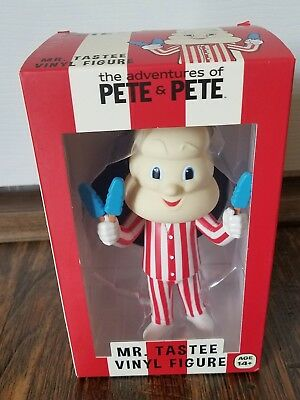New The Adventures Of Pete & Pete Mr Tastee Vinyl Figure Ice Cream Man Nick Box