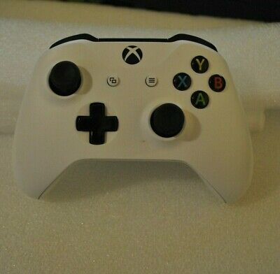 Xbox One Microsoft Wireless White Controller - Faulty