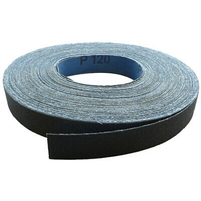 Toolpak Emery Cloth Roll 25mm x 50m (Various Grits)