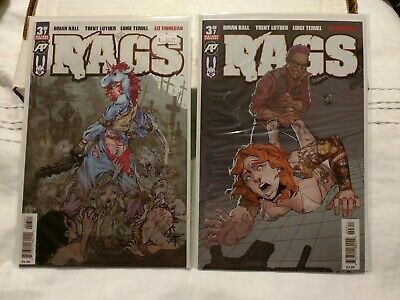 Rags #3 Cover A 1st Print + Cover B Exposed Variant Antarctic Press