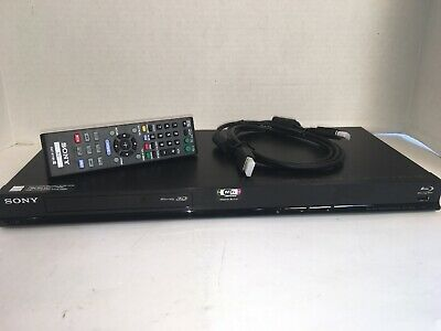 Sony BDP-BX58 3D Wi-Fi Blu-Ray DVD Player & RMT-B110A Remote & New HDMI Cable