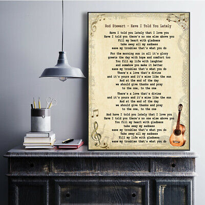One Day Like This Vintage Heart Song Lyric Quote Print