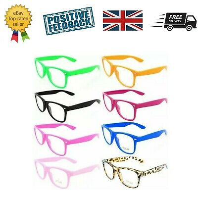 Fashion Glasses frame kids childrens adults geek Fancy dress up accessories