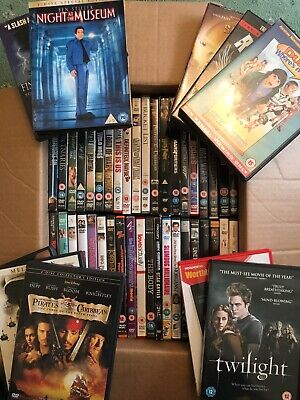 50 DVDs bundle joblot mixed film titles carboot bargain - Preowned