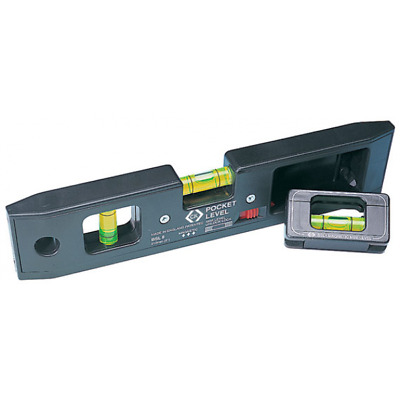CK Tools T3482 - Mini Pocket Spirit Level Detachable Line 210mm