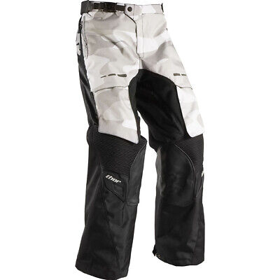 Thor NEW Terrain Camo Black Over The Boot Motorbike Offroad Adventure Pants