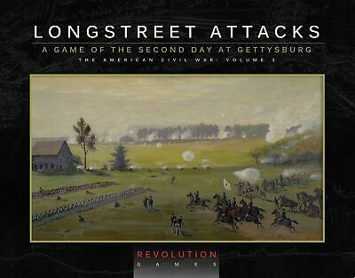 Longstreet Attacks (Ziplock Edition) Revolution Games