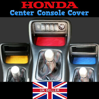 Honda Civic Suede Centre Console Cover - EJ EK EK9 Interior Dash Type R SiR VTI