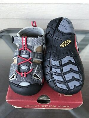 caf3104f1461 KEEN Seacamp II CNX Toddler Boys Sandals Size 6 Waterproof Shoes NEW IN BOX