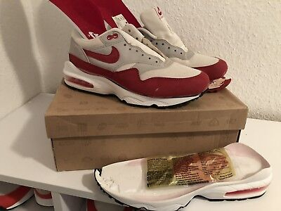 NIKE AIR MAX 1 Og Red Mesh 1999 93 Overkill Parra Infared 180 No Off White Yeezy