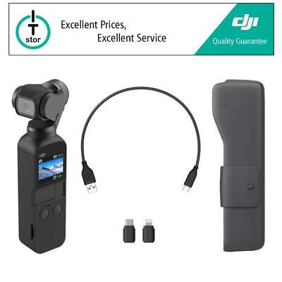DJI OSMO POCKET - Stabilized Handheld Camera - Free OSMO Expansion Kit Refurb