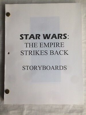 Star Wars The Empire Strikes Back  Storyboards