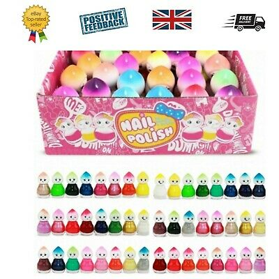 Baby doll nail polish varnish - Box of 24 or 6 8 10 12 Make up Set kit Manicure