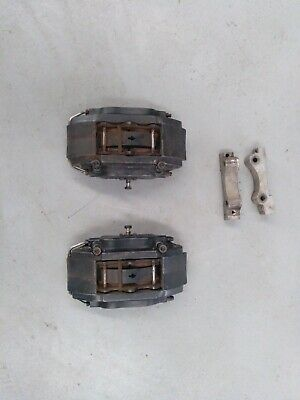 4 piston ap brake caliper with ds3000 pads with brackets ford sierra and escort
