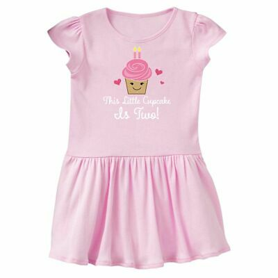 Inktastic 2nd Birthday Cupcake Girls Cute Toddler Dress Second 2 Year Old Im Two