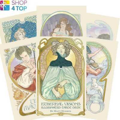 Ethereal Vision Illuminated Tarot Deck Cards Esoteric Us Games Systems New