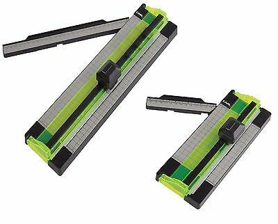 "Carl 6"" & 12"" Personal Rotary Trimmer Cutter Set Cut Pictures Scrapbooking Craft"