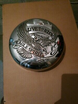 Harley-Davidson Air filter cover Live to ride ride to live Eagle Spirit