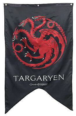 GAME OF THRONES – TARGARYEN HOUSE BANNER 30'x50' Inches OFFICIALLY LICENSED