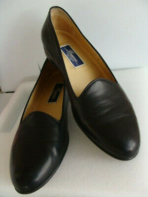 bb8ab2a8d9c Cole Haan Bragano ~ Black Calf Leather Loafers 12M Opera Pumps Italy Slip  On GUC