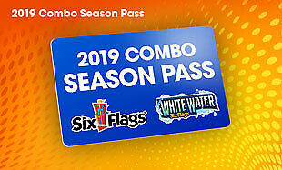 Six Flags Over Georgia 2019 Combo Gold Season Pass $67.99 A Promo Discount Tool!