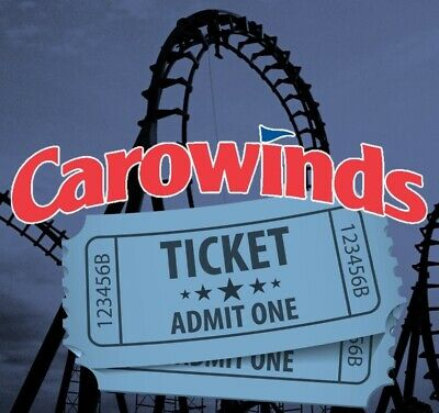 2 CAROWINDS THEME PARK TICKETS - ADULT OR CHILD - Charlotte, NC