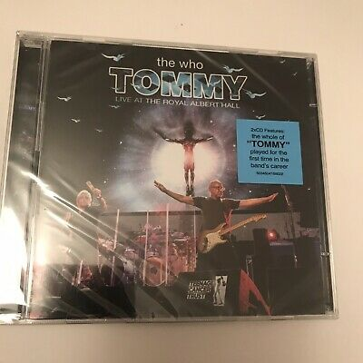 The Who - Tommy Live at the Royal Albert Hall Double CD - Brand New