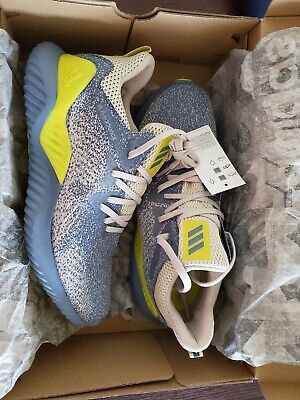 bf4388a4d3b2 Mens ADIDAS ALPHABOUNCE BEYOND RAW GREY Running Shoes Mens Sneakers AQ0576  NEW