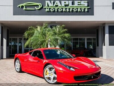 2010 Ferrari 458 Italia 2010 Ferrari 458 Italia - Daytona Seats - Yellow Calipers - ONLY 7k MILES