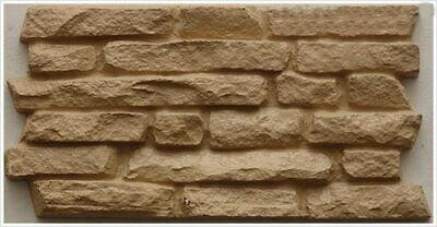 """Plastic Molds for Concrete  and Plaster Wall Stone Cement Tiles """"Dovetail""""  for"""