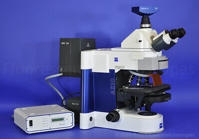 Zeiss Axio Imager. A1 Upright Fluorescence Microscope - Plan-NeoFluar Objectives