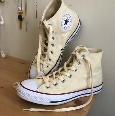 357c6c94c2ed Converse Chuck Taylor All Star High Top Women Shoes M9162 - Unbleached White