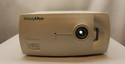 Welch Allyn Cl300 Chirurgical Illuminateur Lumière Source Système Optiques Led