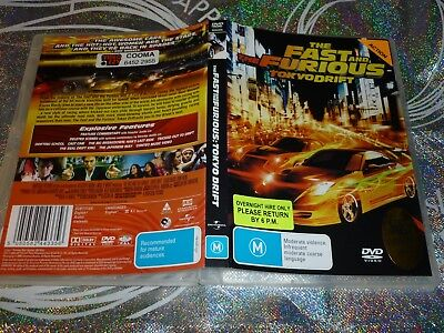 The Fast And The Furious Tokyo Drift (Ex Rental) (Dvd, M) (129863 A)