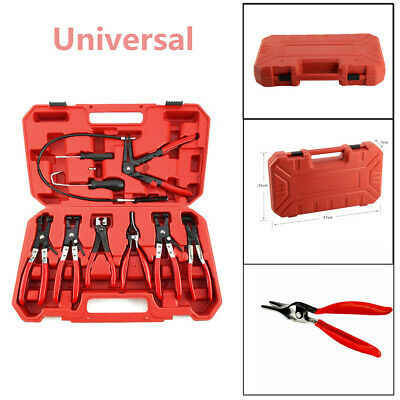 Car Fuel Oil Water Pipe Install Tool Flexible Lock Hose Clip Clamp Plier Kind