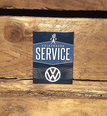 Volkswagen Service Sign Magnet Officially License product. VW bobble head