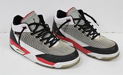 72676c01e73833 Rare Nike Air Jordan Flight Club 80 s White Black Red Size 11.5 599583 103