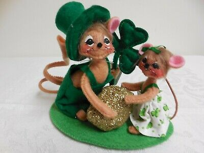 Annalee 5in Gold Nugget Couple