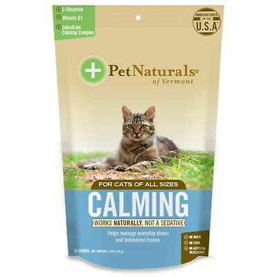 Pet Naturals Calming for Cats  30 Chicken Liver Flavoured Chews