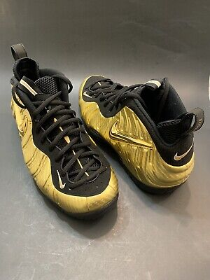 100% authentic f68cb 33436 Nike Air Foamposite Pro Metallic Gold  624041 701  No Penny Max Hardaway Sz  13