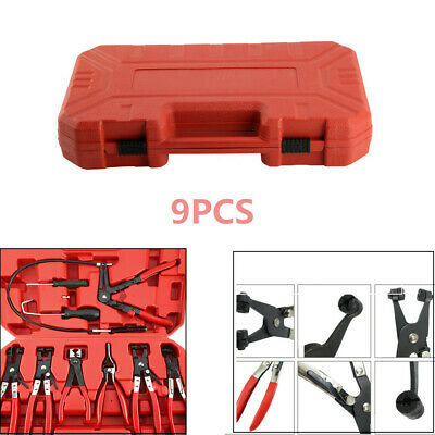 Car Fuel Oil Water Pipe Install Tool Flexible Lock Hose Clip Clamp Plier Fine