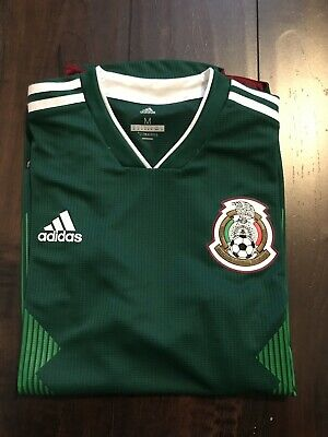 5c248def2a0 AUTHENTIC ADIDAS MEXICO Jersey Soccer 2018 Home Climachill Sz. M P95985 NEW