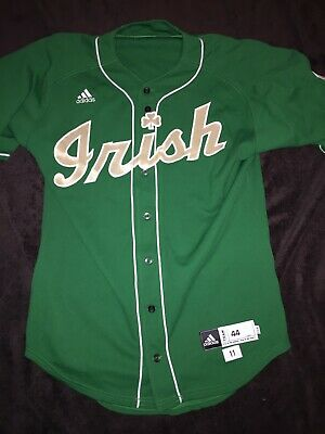 sports shoes fc2c6 092bc NOTRE DAME BASEBALL Kelly Game Jersey 2011 - #32